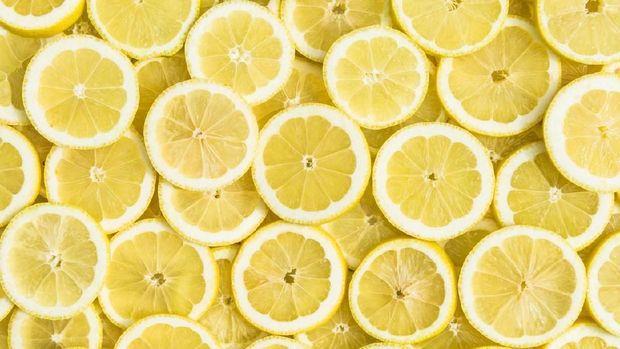Buah lemon.