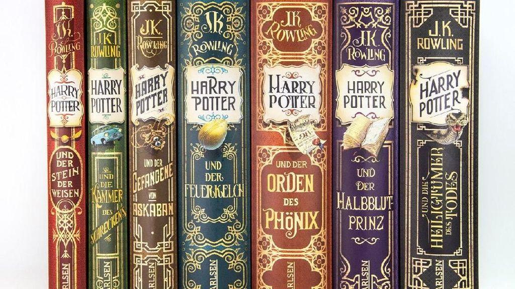 Seniman di Balik Buku Harry Potter Versi Bahasa Jerman