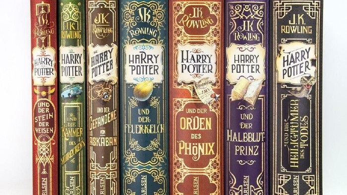 Buku Harry Potter diterbitkan ulang di Jerman