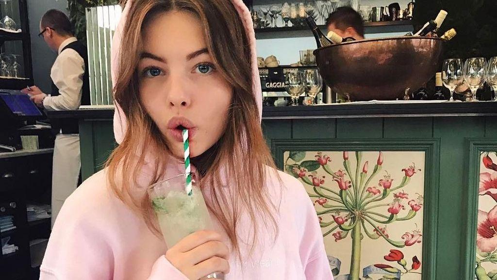 Thylane Blondeau, Gadis Tercantik Di Dunia yang Doyan Minum Soft Drink