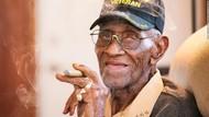 Berusia 112 Tahun, Veteran Ini Gemar Konsumsi Makanan Manis Hingga Rokok