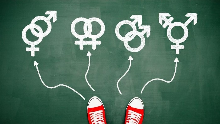 Jenis kelamin yang kelihatan secara fisik terkadang belum tentu sesuai dengan kromosom. Foto: iStock