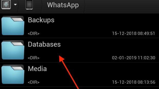 Cara Pindahkan Chat WhatsApp kalau Kamu #2019GantiHape