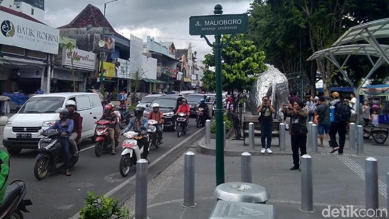 Malioboro Yogyakarta, (2/1/2019)