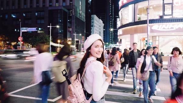 Bulan November lalu, Milin sempat jalan-jalan di Taiwan. Wah, kok nggak ngajak-ngajak sih Milin? (Instagram/@milinb3rry)