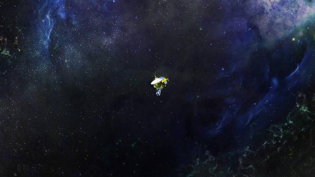 Petualangan New Horizons, Pesawat yang Capai Dunia Lain
