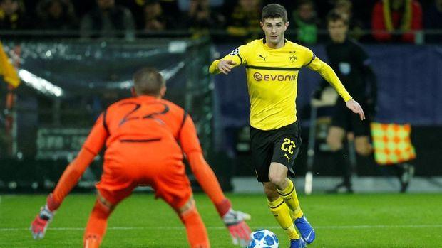 Dortmund akan menghadapi Tottenham di babak 16 besar Liga Champions.