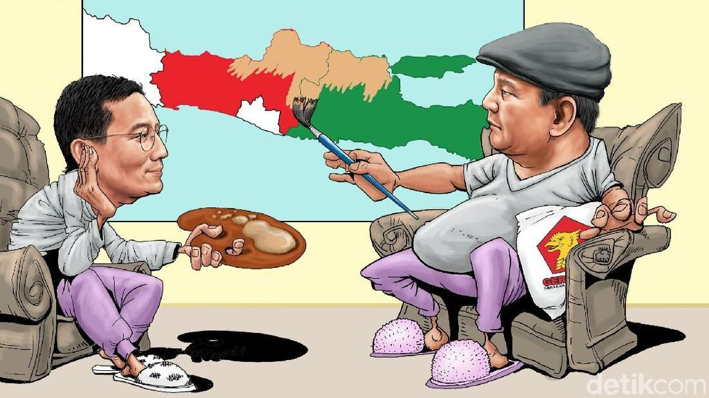 Pola Serangan 5-2 Prabowo-Sandi