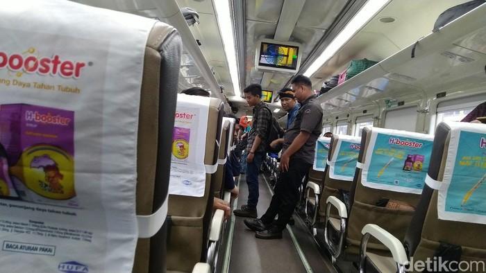 Kereta Pangandaran (Foto: Dadang Hermansyah/detikcom)