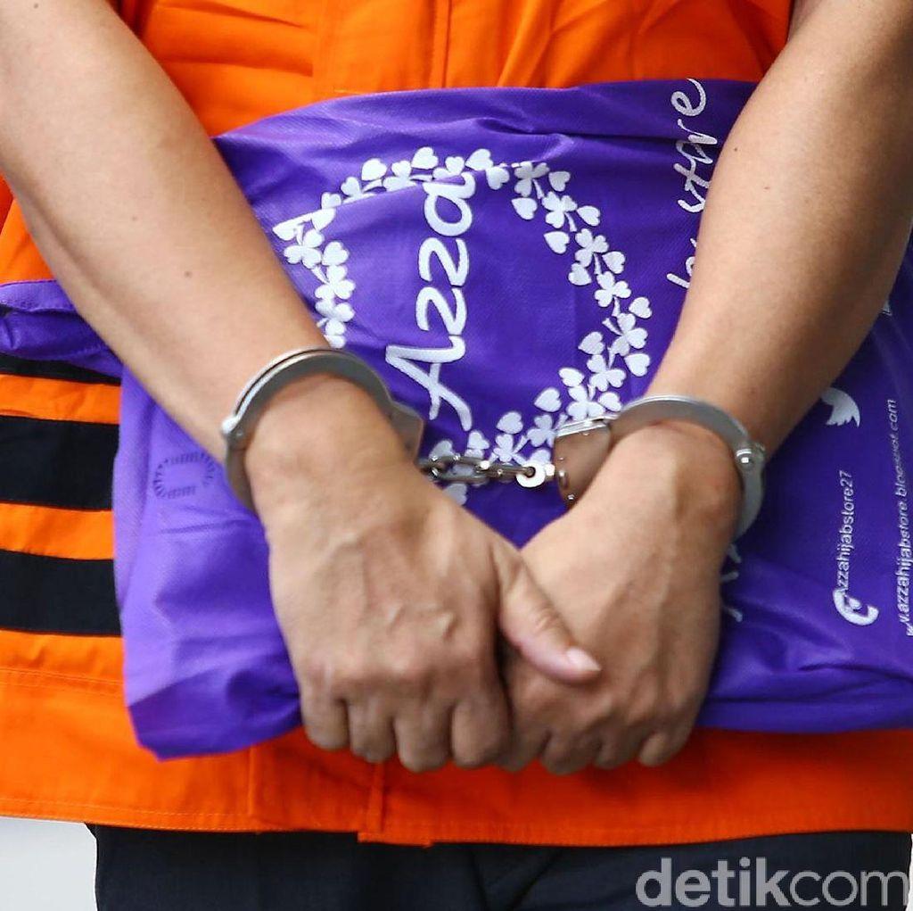 Tahanan KPK Bersatu Gegara Borgol