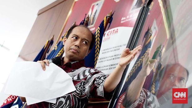 Kepala Pusat Data Informasi dan Humas BNPB Sutopo Purwo Nugroho.