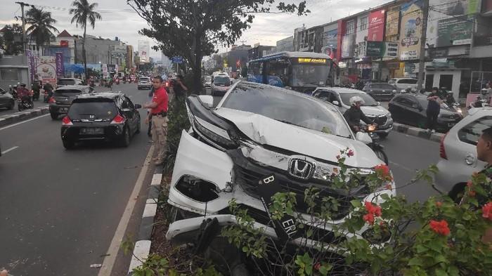 Ilustrasi kecelakaan lalu lintas (Foto: Matius Alfons-detikcom)
