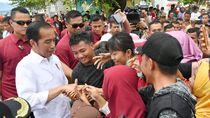Jokowi ke Jatim Tinjau Proyek Irigasi Lodoyo
