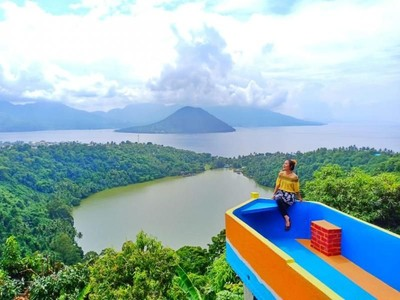 Danau Ngade, Spot Instagramable di Ternate