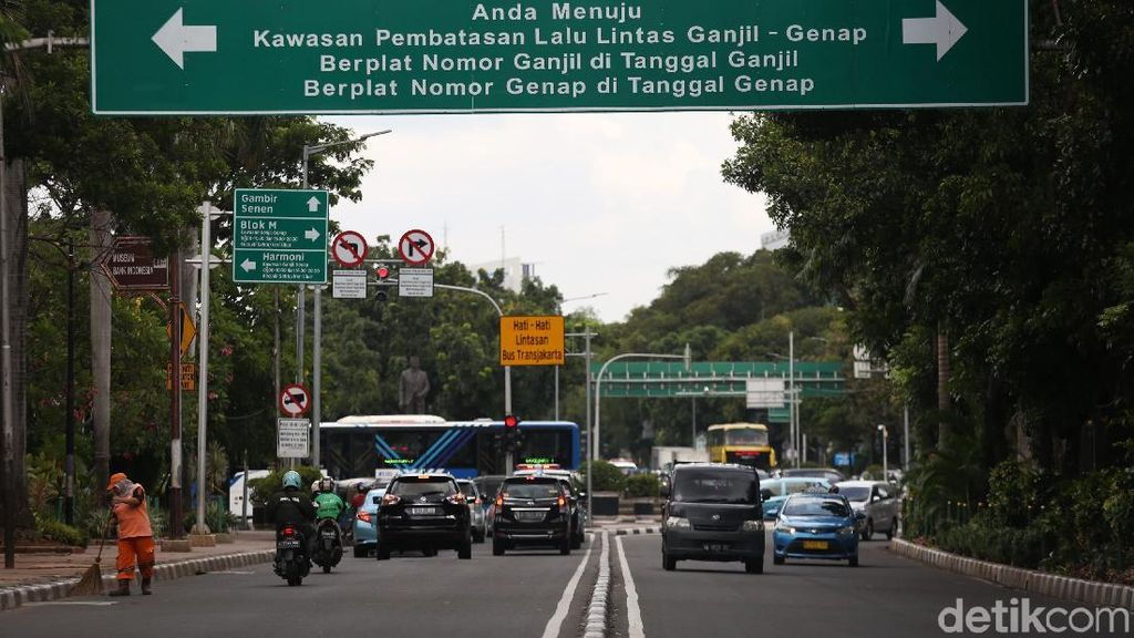 Deretan Kendaraan yang Kebal Ganjil-genap Jakarta