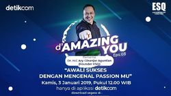 Tonton dAmazing You Passion Mesin Sukses Ary Ginanjar di Sini!