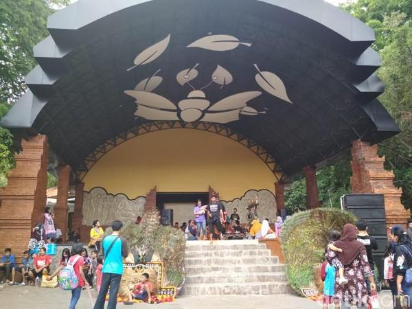 Gua Selomangleng menjadi daya tarik bagi wisatawan, baik dalam maupun luar Kota Kediri. (Istimewa)
