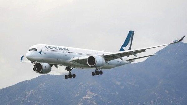 Cathay Pacific. Maskapai yang bermarkas di Bandara Internasional Hong Kong ini naik ke peringkat 5 dari peringkat 9 tahun lalu. (Dok. Getty Images via BBC)