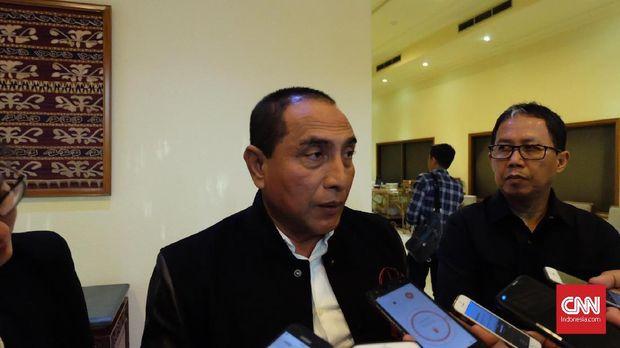 Gubernur SUmut Edt Rahmayadi ingin pariwisata di Danau Toba membuat orang-orang lebih fresh.