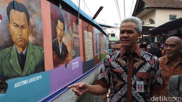 Kampung Preman Itu Kini Jadi Kawasan Mural Mempesona di Salatiga