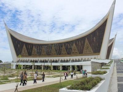 Foto: Masjid Tanpa Kubah yang Tahan Gempa