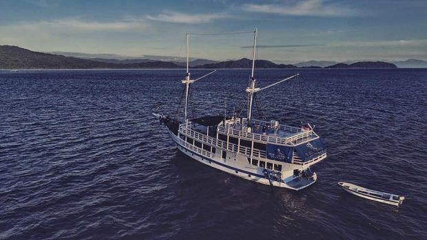 Pencurian kapal wisata di raja ampat