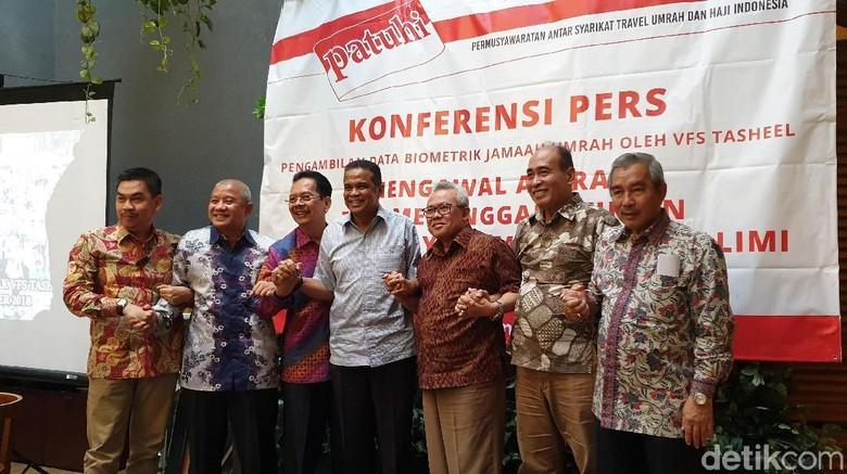 Permusyawaratan Antar Syarikat Travel Umrah dan Haji Indonesia (PATUHI) (Masaul/detikTravel)