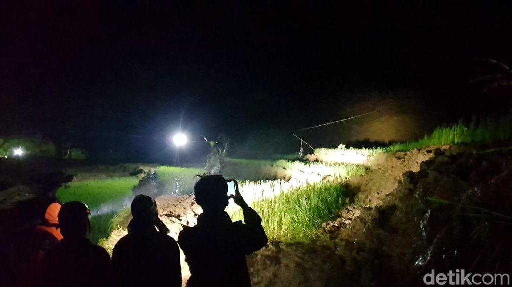 Getaran dan Gemuruh Kembali Terdengar di Lokasi Longsor Sukabumi