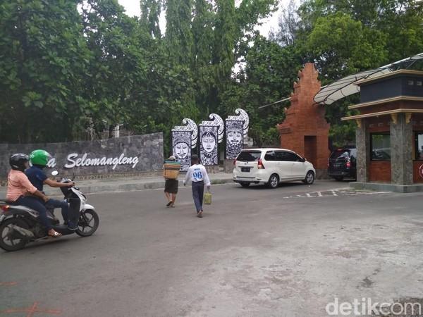 Pada libur Tahun Baru seperti sekarang jumlah pengunjung objek wisata Gua Selomangleng meningkat 50-60 persen. (Istimewa)