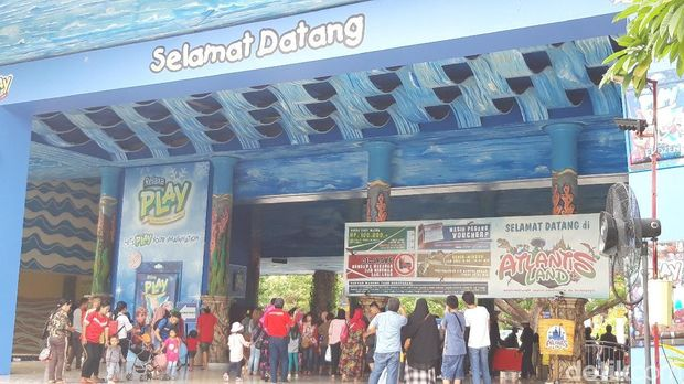 Magnet Terbaru Surabaya yang Diserbu Wisatawan: Atlantis Land