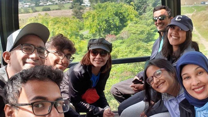 Najwa Shihab bersama keluarga menghabiskan liburan Tahun Baru ke Selandia Baru. Banyak destinasi yang dia datangi (Instagram/najwashihab)