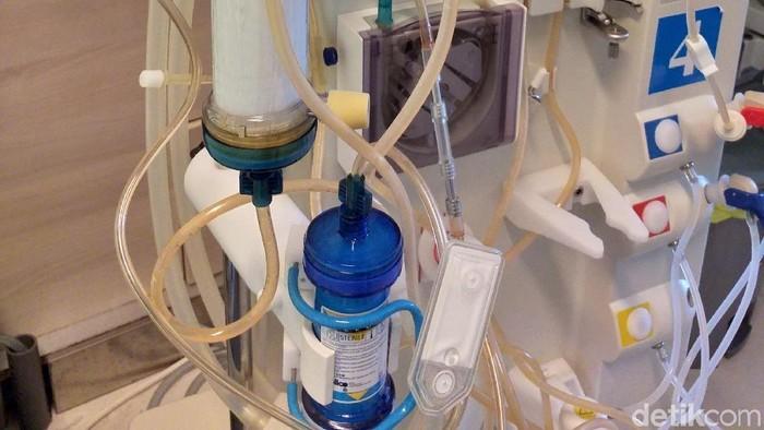 Peralatan cuci darah atau hemodialisis (Foto: Khadijah Nur Azizah/detikHealth)