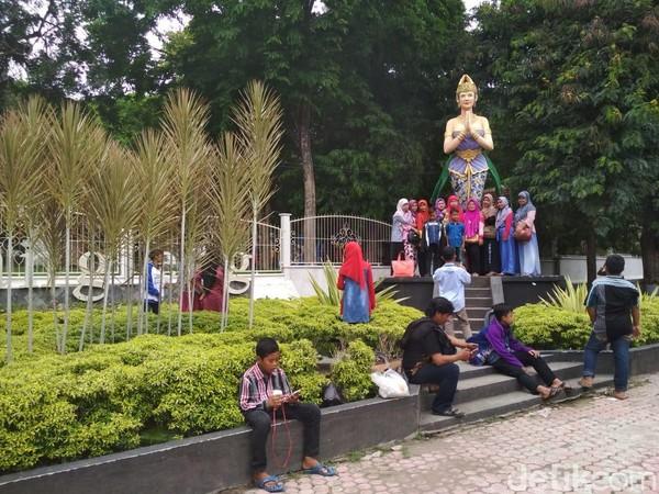 Wisata Gua Selomangleng terus berbenah dan bersolek mempercantik diri. Lokasinya di Kelurahan Pojok kecamatan Mojoroto Kota Kediri ini. (Istimewa)