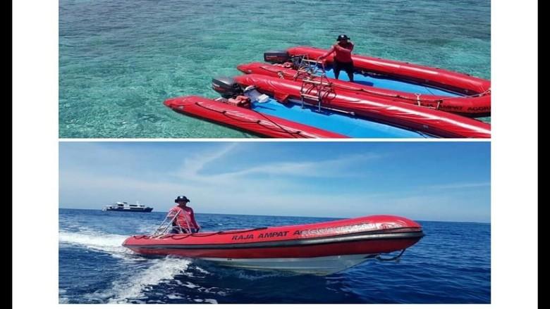 Foto: Speed Boat Ocean Rover yang sempat hilang (Istimewa/Alfrets)