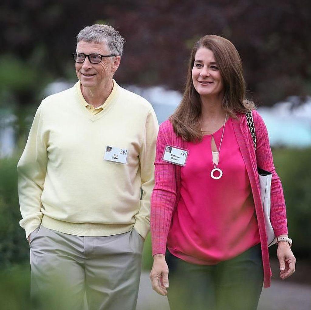 Rahasia di Balik Mesranya Pernikahan Bill Gates dan Melinda