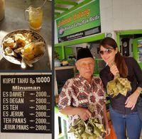 Cantik-cantik, Tamara Bleszynski Doyan Banget Makan di Warung!