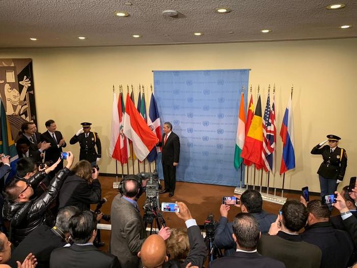RI resmi menjadi anggota tidak tetap DK PBB. (Foto: Dok. PTRI New York)