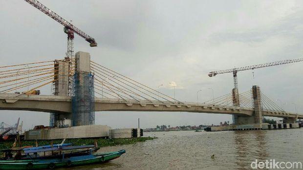 Jembatan Musi IV-Palembang