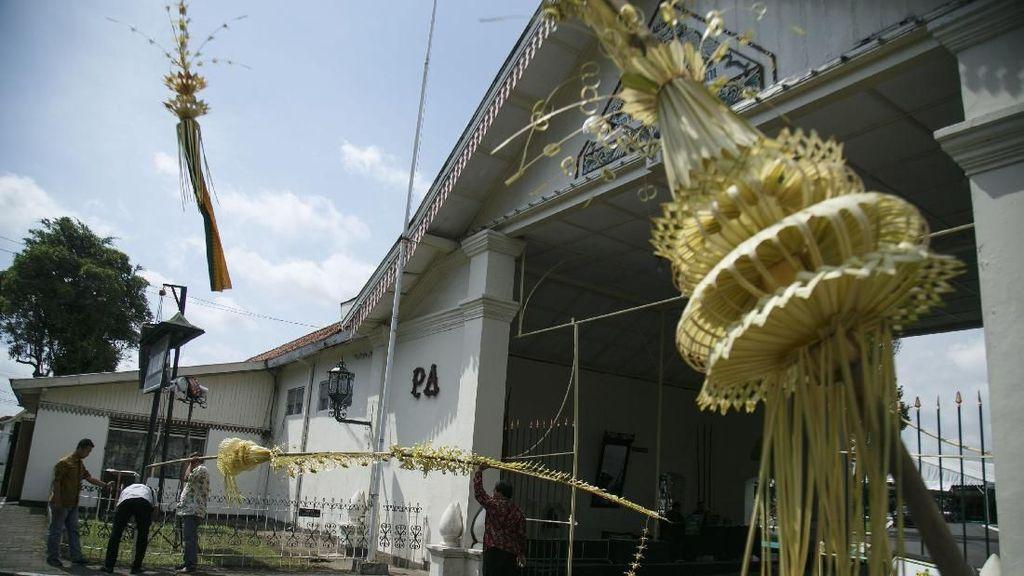 Janur Kuning Dhaup Ageng Puro Pakualaman Telah Melambai
