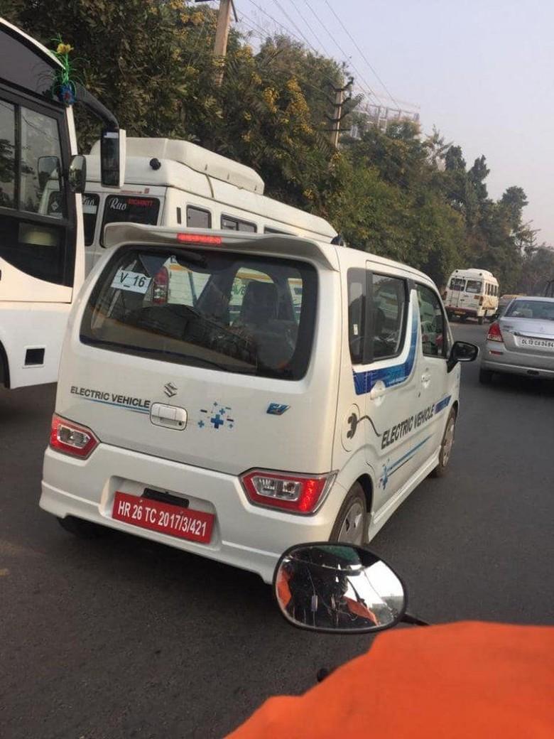 Suzuki Karimun Wagon R Listrik. Foto: Dok. Indianautosblog