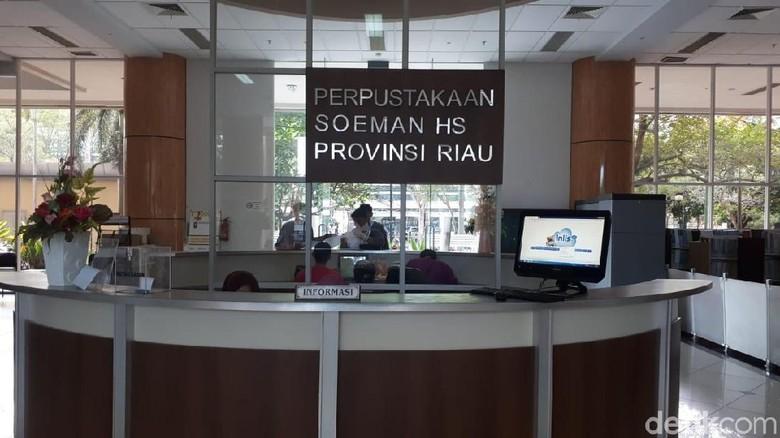 Nunggak Listrik, Kepala Perpustakaan Riau: Keuangan Tak Cukup