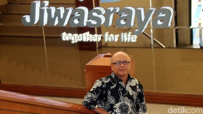 Direktur Utama Asuransi Jiwasraya Hexana Tri Sasongko