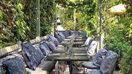Liburan, Nikita Willy Mampir Makan Dessert di The Ivy Chelsea Garden