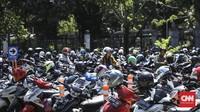 Parkir Motor PNS di Monas Naik 16 Kali Lipat per 15 Januari