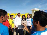 WiFi Gratis Bikin Taman Kota Morotai Asyik Buat Narsis