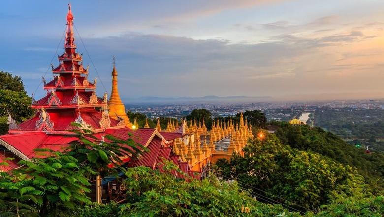 Mandalay di Myanmar (shutterstock)