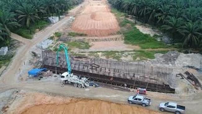 Ilustrasi Foto: Tol Pekanbaru-Dumai (Dok. Hutama Karya)
