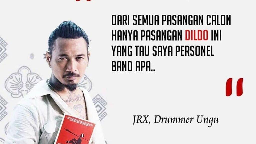 Jadi Meme Nurhadi-Aldo, Jerinx SID Disebut Drummer Ungu