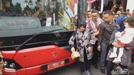 Asyik, Bu Risma Kembali Luncurkan 10 Unit Bus Suroboyo