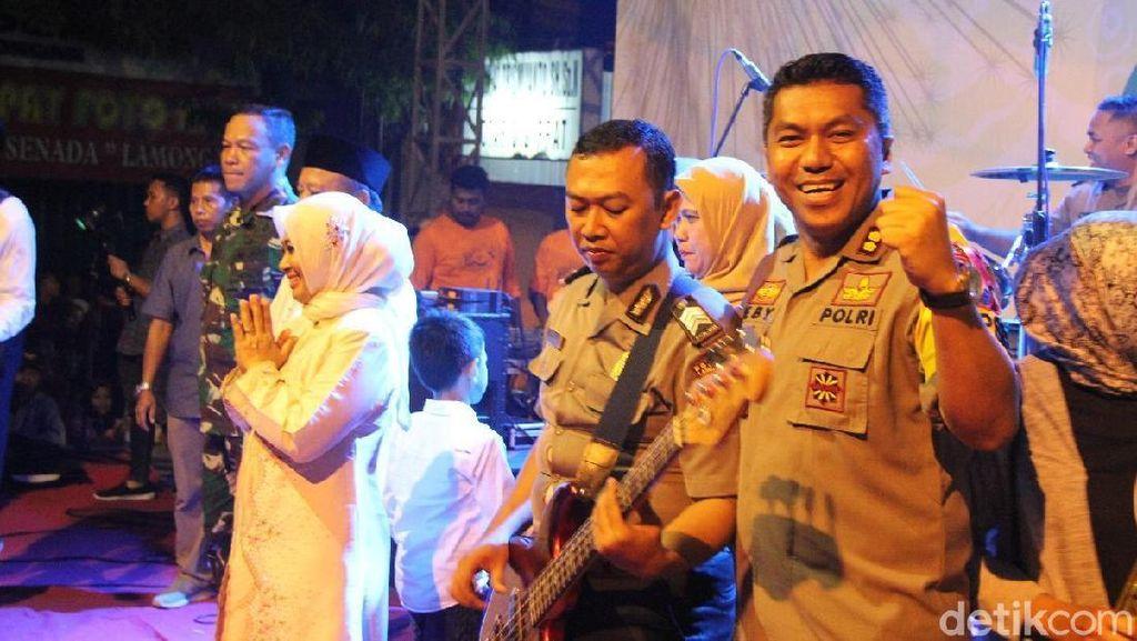 Kenalkan Partpol, Grup Bandnya Polisi dari Lamongan